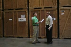 Metcalf Moving Storage Crates