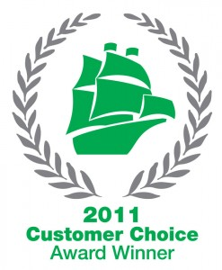 2011 Mayflower Customer Choice Award Winner