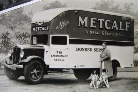Historic Metcalf Moving Truck
