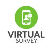 virtual survey logo